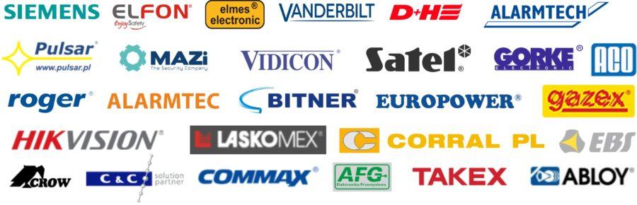 Logotypy kontrahentów na www